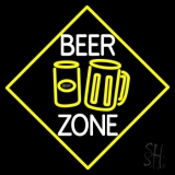 Beer Zone With Beer Mug Neon Sign