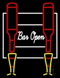 Cursive Bar Open Neon Sign