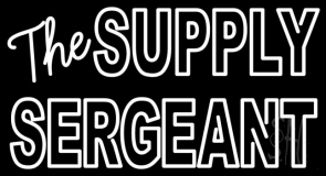 The Supply Sergeant Neon Sign