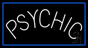Blue Psychic Neon Sign