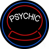 Green Psychic Logo Neon Sign