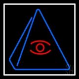 Psychic Eye Pyramid Neon Sign