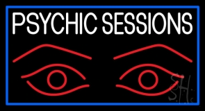 Psychic Sessions With Eye Neon Sign