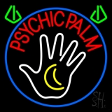 Red Psychic Palms Neon Sign