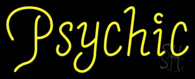 Yellow Psychic Neon Sign