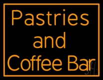 Pastries N Coffee Bar Neon Sign
