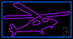 Helicopters Neon Signs