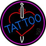 Tattoos Inside Heart Neon Sign