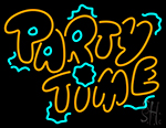 And Party Time 1 Neon Sign