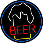 Beer Glass Neon Sign