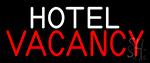 Hotel Vacancy Neon Sign