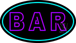Purple Bar Neon Sign