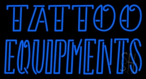 Double Stroke Tattoo Equipments Neon Sign
