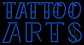 Tattoo Arts Neon Sign