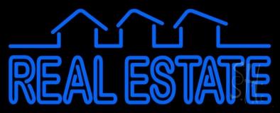 Block Real Estate Neon Sign