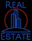 Real Estate Building Logo Neon Sign