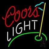 Coors Light Golf Neon Sign
