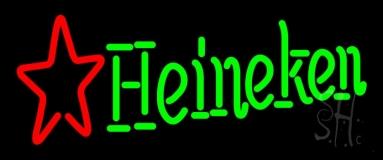 Heineken Beer Start 4 Long Big Neon Sign