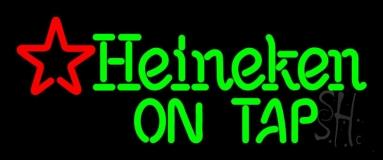 Heineken On Tap Beer Neon Sign