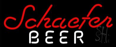 Schaefer Beer Beer Neon Sign
