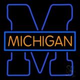 University Of Michigan Neon Sign