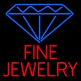 Fine Jewelry Block Neon Sign