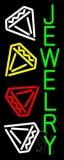 Green Jewelry Block Neon Sign