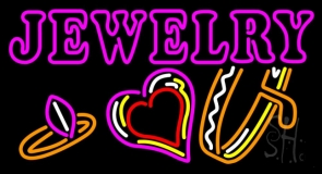 Jewelry With Logo Neon Sign