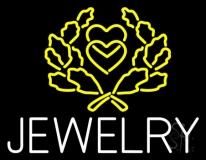 Jewelry Block Logo Neon Sign