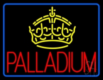 Palladium Block Crown Neon Sign