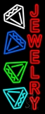 Red Jewelry Block Neon Sign