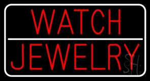Watch Jewelry Neon Sign