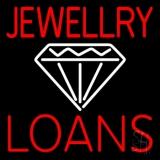 White Diamond Jewelry Loans Neon Sign