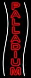 White Line Palladium Neon Sign