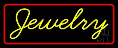 Yellow Jewelry Neon Sign