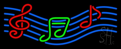 Musical Note 1 Neon Sign