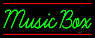 Music Box 1 Neon Sign