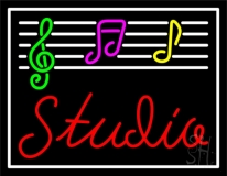 Music Studio 2 Neon Sign