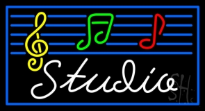 Music Studio Neon Sign