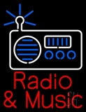 Radio Music Neon Sign