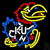 Kansas Jayhawks Logo Neon Sign