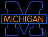 Michigan University Neon Sign