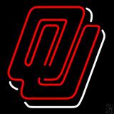 Oklahoma Sooners University Logo Neon Sign