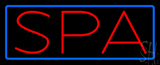 Spa with Border Neon Sign