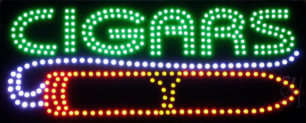 Custom LED Business Sign