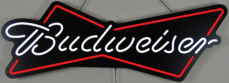 "Budweiser Bowtie 48"" Led Sign"