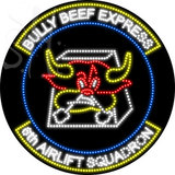 Custom Bully Beef Express Led Sign 1