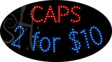 Custom Caps 2 For $10 Led Sign 1