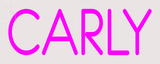 Custom Carly Neon Sign 1