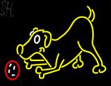 Custom Dog Play With Ball Neon Sign 1